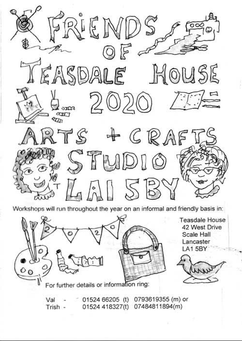 Friends of Teasdale House Arts and Crafts