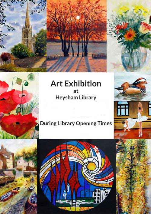 Heysham Library Exhibitions