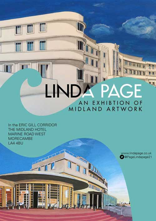 Linda Page at the Midland Hotel Morecambe