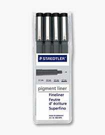 pigment ink pens set of 4