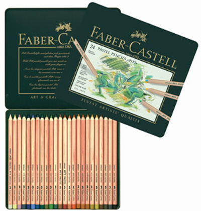 colin brady faber castell pastel pencil tin set