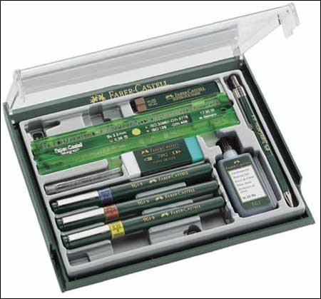 Faber castell tg technical drawing pens