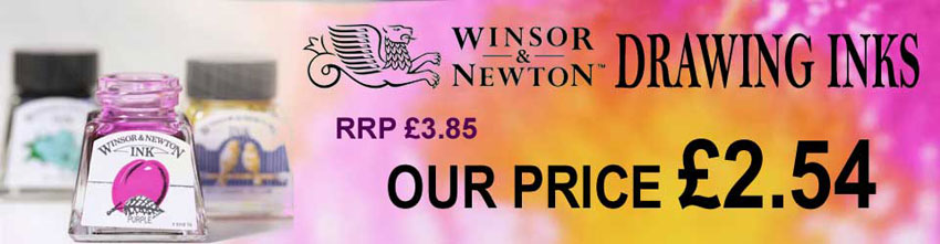 Winsor and newton Drawing Inks special offers  Promotion