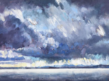 Approaching Storm Morecambe Patricia Haskey-Knowles