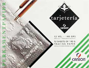 Tarjeteria parchment craft tracing papers