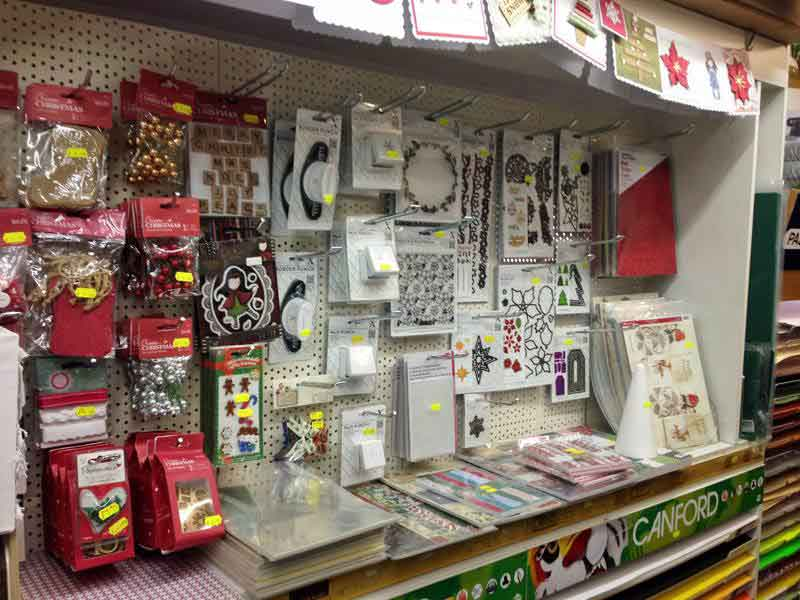 Studio Arts Lancaster new craft cardmaking display stand
