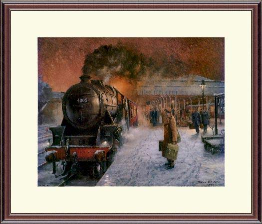 Steam Train Christmas Leave Trevor Owen