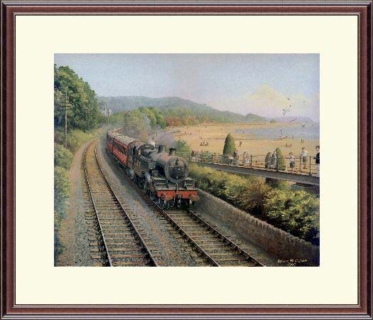 Steam Train Summer Time Grange Trevor Owen
